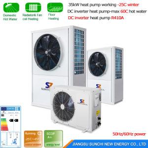 -25c Winter 10kw 20kw Heat Pump Water Heater with Inverter pictures & photos