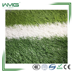 Easy Installation Non-Infill Synthetic Turf Soccer Pitch Artificial Lawn pictures & photos