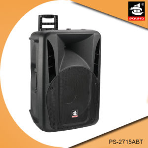 15 Inch Professional 200W Power Bluetooth Plastic Active Speaker with FM pictures & photos