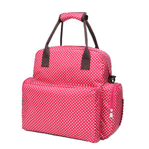 Large Capacity Fashion Designer Shoulder Mummy Nappy Baby Diaper Bag pictures & photos