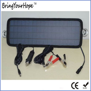4.5W Solar Car Battery Charger 12V (XH-PB-139) pictures & photos