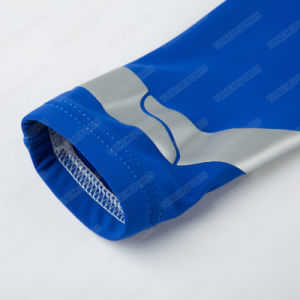 Blue Breathable Compression Basketball Silicon Energy Gel Elbow Support pictures & photos