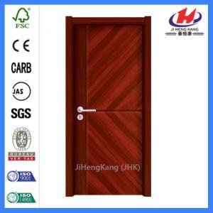 Solid Wood Interior Hardware Sliding Malemine Door (JHK-MD06) pictures & photos