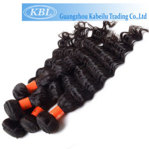 Deep Wave Grade 3A Indian Human Hair pictures & photos