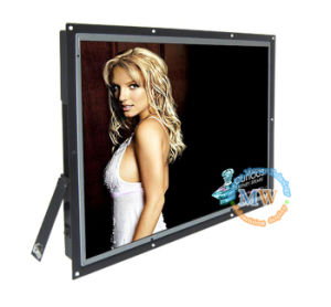20.1inch Open Frame LCD Advertising Display with USB SD Card (MW-203AES) pictures & photos