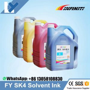 Factory/Wholesale Price Infiniti/Infinity Sk4 Solvent Ink for Seiko Spt510 Print Head Sk4 Ink for Sid Challenger Infiniti Phaeton Printer pictures & photos