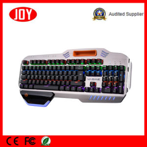 Hot Gaming Mechanical Keyboard USB Wired pictures & photos