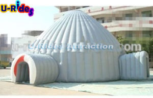 white colour oxfor and PVC Inflatable Igloo Marquee Dome Tent for Party pictures & photos