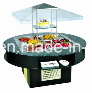 Cheering Hotel Equipment Commercial Salad Bar Fridge with Ce pictures & photos