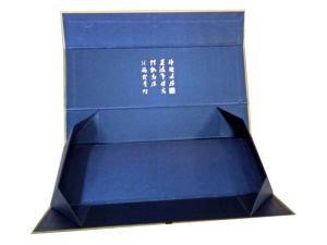 Flat Packed Printing Paper Box Folding Foldable Folded Magnetic Cardboard Packaging Gift Box pictures & photos