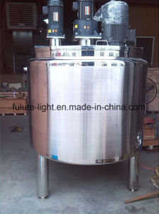 500L Stainless Steel Jacket Cooling Mixing Tank with Agitator pictures & photos