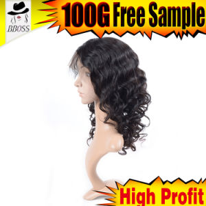Higher Density Brazilian Hair Wig with Silk pictures & photos