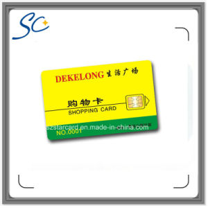Cr80 Size PVC Contact IC Card pictures & photos