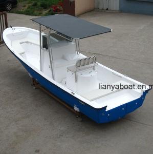 Liya 7.6m Fiberglass Hull Panga Boats 90HP Fiberglass Boat pictures & photos