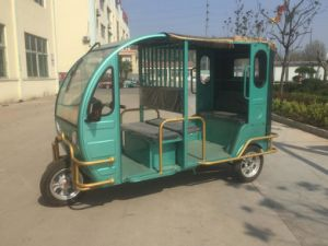 Four Passengers 48V 1000W Three Wheel Electro Tricycle pictures & photos
