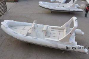 Liya 22FT Rigid Boat Hypalon Rib Inflatable Boat for Sale pictures & photos