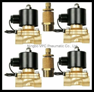 Suspension Manifold Air Brass Valve 2W040-10 pictures & photos