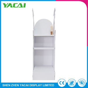 Clothes Folded Paper Floor Display Rack Exhibition Booth Stand pictures & photos