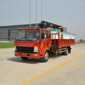 Sinotruk HOWO 8/10/12 Ton Truck Mounted Crane pictures & photos