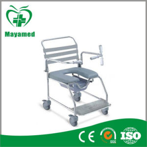 Ma-670s Muti-Fuction Commode Wheelchair Bidet Wheelchair pictures & photos