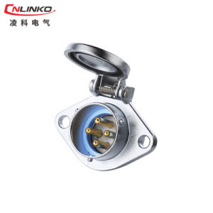 Hot Selling Cnlinko Waterproof 4pin Connector Male Plug Female Socket pictures & photos