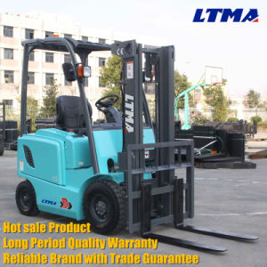 Mini 1.5 Ton Electric Forklift for Sale pictures & photos