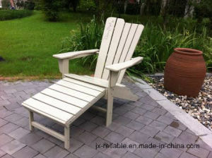 Hot Sale Polywood Adirondack Chair W/Footrest Furniture pictures & photos