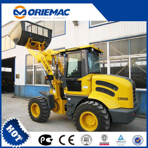 2 Ton China Mini Front Loader Casie CS920 with CE pictures & photos