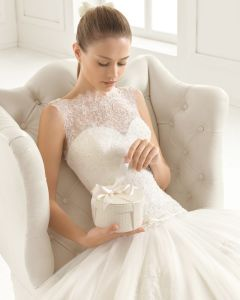 Sleeveless Bridal Gown Lace Tulle Beach Country Wedding Dress Lb1830 pictures & photos