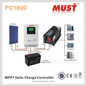 60A Solar Charge Controller PV MPPT pictures & photos