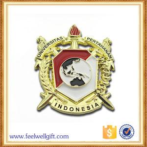Custom Design Zinc Alloy Iron Metal Print Epoxy Badge pictures & photos