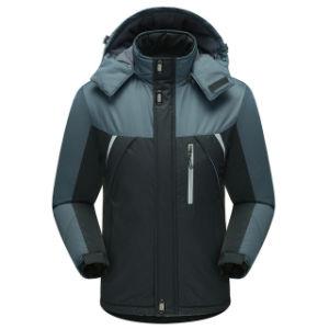 Men Thick Jacket Winter Windproof Pizex Casual Comfortable Outerwear Large Size Fleece Tops Men Cotton Coat pictures & photos