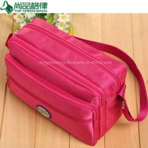 China Manufacturer Hot Selling Polyester Shoulder Messenger Sling Bag pictures & photos