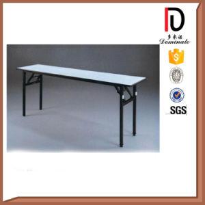 Cheap Durable Folding PVC Rectangle Hotel Banquet Table Br-T0056 pictures & photos
