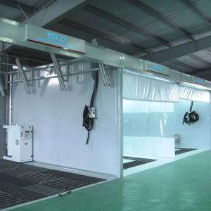 Retratable Spray Painting Booth with Ce pictures & photos