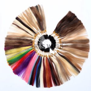 Human Hair Color Chart Color Sheet Color Ring pictures & photos