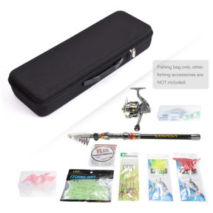 EVA Shockproof Fishing Rod and Reel Carry Bag Fishing Pole Storage Bag Case Fishing Hunting Tackle Tool pictures & photos
