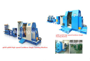 800p Cable Making Machine Cantilever Single Cable Twisting Machine pictures & photos