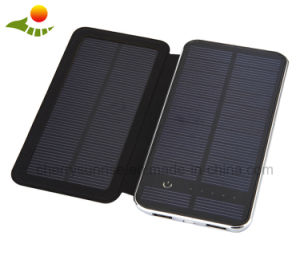 2 USB Solar Panel Charger Slim Solar Power Bank 10000mAh pictures & photos