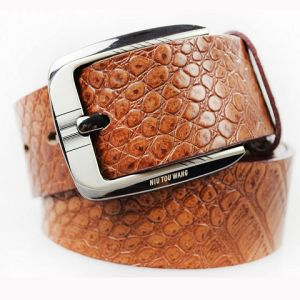 Stylish Men′s Genuine Leather Belt -22 pictures & photos