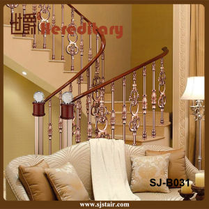 Aluminum Stair Guardrail for Indoor and Outdoor / Stair Railing (SJ-B031) pictures & photos