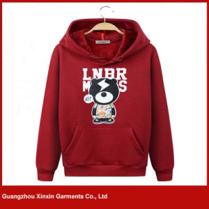 Customized Printed Best Quality Hoody Sweatshirt (T184) pictures & photos
