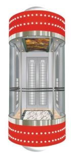 Panoramic Elevator/Lift with Machine Room (G02) pictures & photos