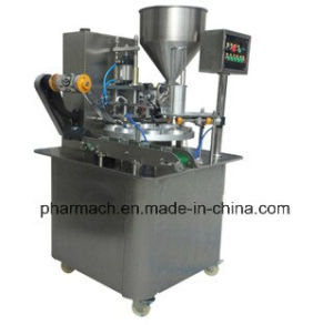 Bhz-1 Automatic Rotary Type Cup Filling Sealing Capping Machine pictures & photos
