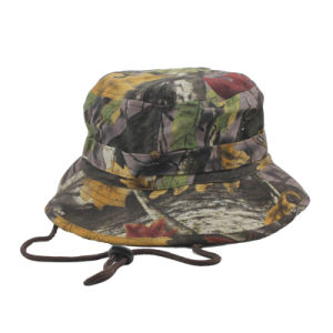 Wholesale Camo Color Blank Hunting Cap pictures & photos