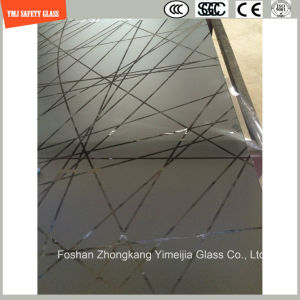 4-19mm Silkscreen Print/No Fingerprint Acid Etch/Frosted/Pattern Safety Tempered Glass for Shower Screen, Bathroom, Fence with SGCC, Ce, ISO Certificate pictures & photos