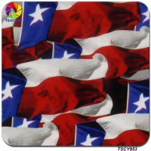 Tsautop Newest Nation Flag Water Transfer Printing Film 100cm pictures & photos