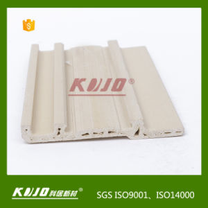 OEM ODM New Material Wood Plastic Composite WPC Skirting Baseboard pictures & photos