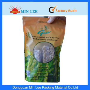 Aluminum Foil Food Packaging Bags with Window in Front (ML-A-215) pictures & photos