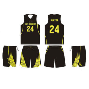 Custom Design Color Basketball Jersey Uniforms for Elite Basketball Academy pictures & photos
